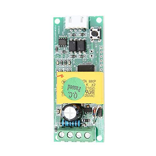 YEZIB Accesorios electrónicos de Bricolaje, Mádulo máximo de monitoreo multifunción de 100A AC MÓDULO DE Monitor MONITULO PZEM-004T