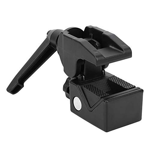 Draagbare Aluminium Quick Release Mount Clip Holder, Quick-release Seat SLR Universele Aluminiumlegering Clamp Seat met Afneembare Antislip Rubberen mat voor SLR-camera