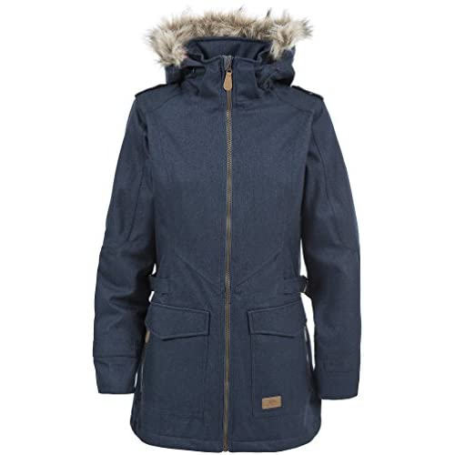 41YHZfbpm2L. SS500  - Trespass Everyday Womens Waterproof Jacket with Removable Fur