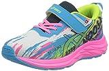 Asics Pre Noosa Tri 13 PS, Road Running Shoe, Digital Aqua/Hot Pink, 32.5 EU