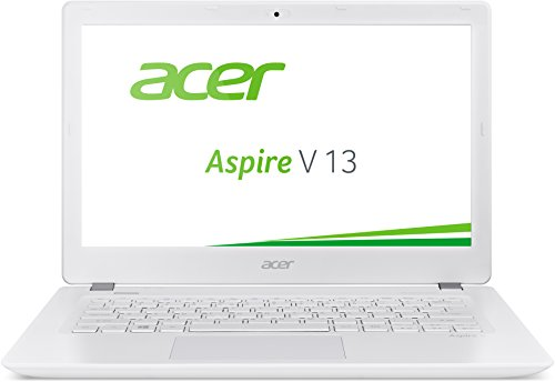 Acer Aspire V 13 (V3-372-5343) 33,78 cm (13,3 Zoll Full HD IPS) Laptop (Intel Core i5-6200U, 8GB RAM, 256GB SSD, Intel HD Graphics 520, Win 10 Home) weiß