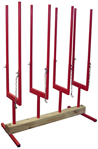 Preisvergleich Produktbild Forest Master Bench log Stand 4,  Multi Sagebock 4,  rot,  BLS4
