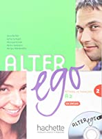 ALTER EGO-2/LIVRE+CD AUDIO ELEVE