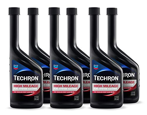 TECHRON 266711163-6PK High Mileage Fuel System Cleaner, 6 Pack