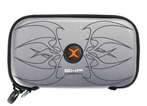 Original SXP foto bolsa para Panasonic Lumix DMC-FS10Tribal Plata