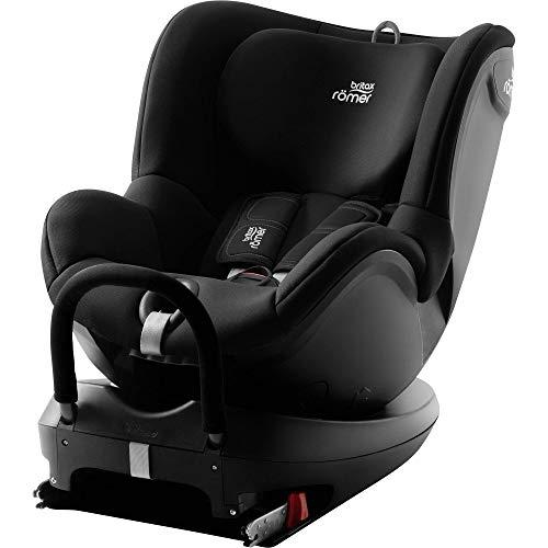 Britax Römer Reboarder Kindersitz 0 - 4 Jahre I 0 - 18 kg I DUALFIX 2 R Autositz Drehbar Isofix Gruppe 0+/1 I Cosmos Black