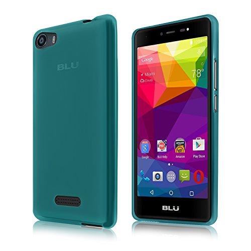 Cbus Wireless Matte Finish TPU Silicone Gel Case / Cover for BLU Life One X (2016) - Semi Transparent Blue