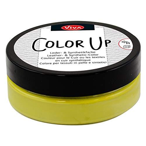 Viva Decor - Color Up (Kiwi, 50ml) Peinture pour Cuir, Cirage pour teindre Le Cuir, Simili Cuir - Caoutchouc, Sneakers. Peinture Textile - Fabriquée en Allemagne.