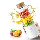 ZWWZ Máquinas de juicer, Juicer de Carga Juicer Frito Portátil Mini Hogar Pequeño Multifunción Fruta eléctrica Copa HAIKE