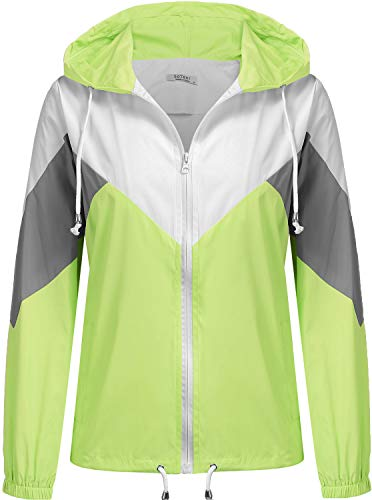 ZITY Packable Lightweight Down Jacket,Water Repellent Short Hooded Lightweight Jacket for Women(Wine-Hooded,S)