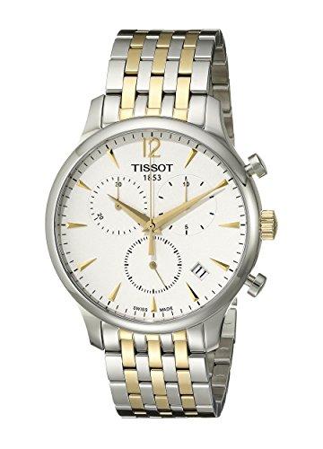Tissot Reloj de Cuarzo Suizo para Hombre T0636172203700 Tradition con visualización analógica en Dos Tonos