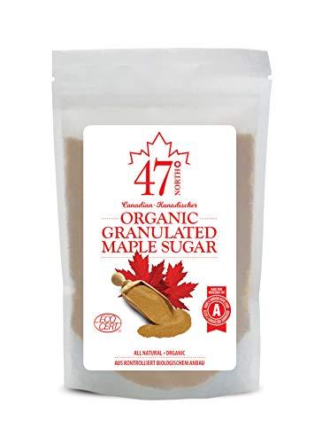 47 North Azúcar de arce granulado orgánico canadiense (250)