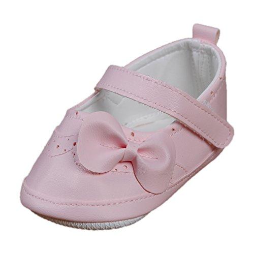 Festliche Babyschuhe Ballerinas rosa Taufschuhe Gr. 20 Modell 4693