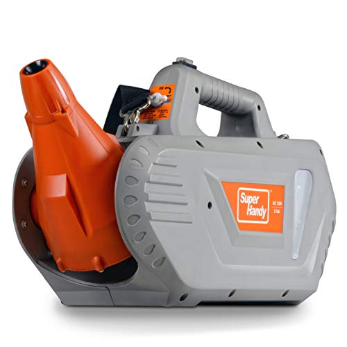SuperHandy Fogger Machine ULV Sprayer Disinfectant Electric Handheld Corded 120V 60Hz Mist Duster Blower 2GAL Adjustable Particle Size 0-50μm/Mm
