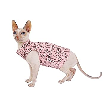 Kotomoda T-Shirt pour Chat Rose Cats (L)