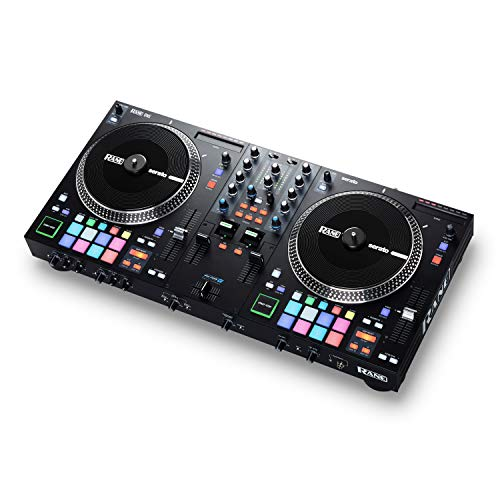 RANE ONE - Complete DJ Set and DJ Controller for Serato DJ with Integrated DJ Mixer, Motorized Platters and Serato DJ Pro Included