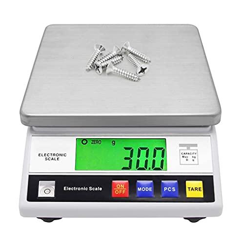 WZ Balanza Precisión Analítica Laboratorio Balanza Digital Alta Precisión Báscula Cocina Joyería Escala Científica Escala Gramo Electrónica (Size : 10kg/1g)