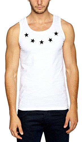Certified Freak Ring of Stars Débardeur Blanc-L