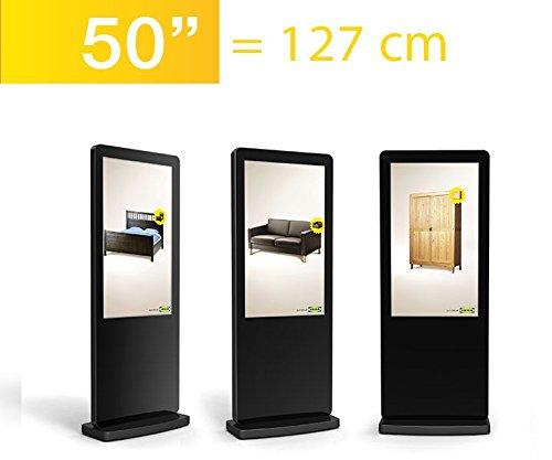 adisplay 50 Zoll Digitale LCD Werbestele L50H7, WiFi, Digital Signage