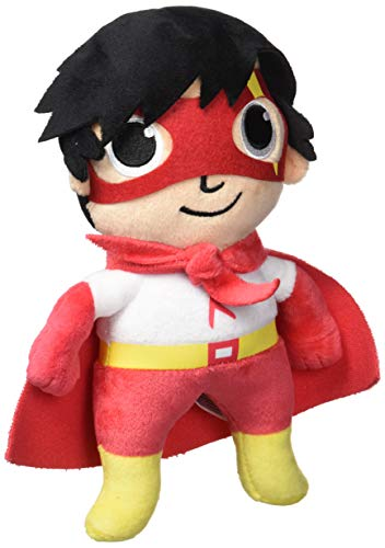 RYAN'S WORLD Red Titan Plush 9'' Stuffed Cape