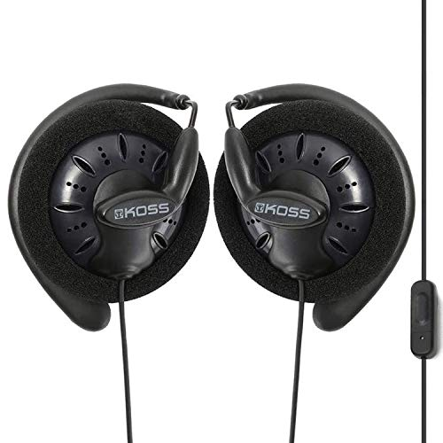 Massdrop x Koss KSC75X On-Ear Portable Headphones with in-Line Microphone, Midnight Blue
