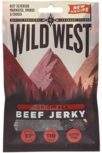 Wild West Original Beef Jerky, 35 g, Pack of 12