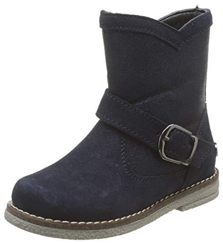 MTNG Jungen 47840 Klassische Stiefel, Blau (Suede Marino/Glitter Marino C37213), 34 EU