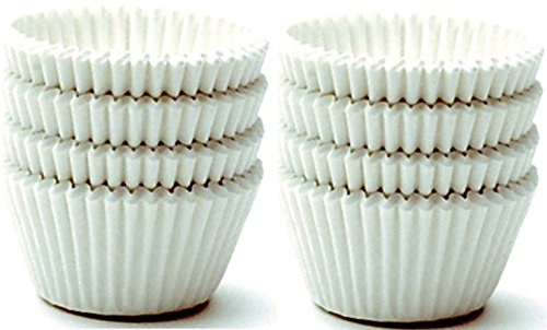 Norpro Giant Muffin Cups, White,2 Packs of 48