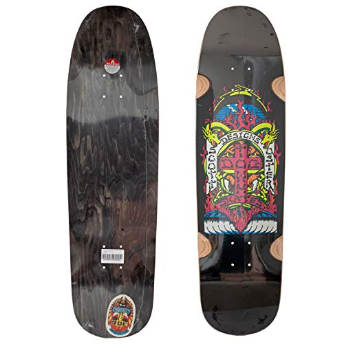 Dogtown Scott Oster Pool Skateboard Cruiser Deck 8.875 x 33 Inch - Old School Crusiser Shape