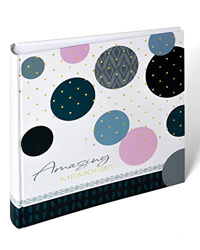 walther design MX-485-L Fotoalbum Amazing Memories, 30x30 cm, blau