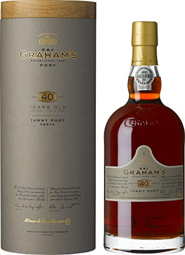 W. & J. Grahams Tawny Port 40 Years Old 20% - 750ml in Giftbox