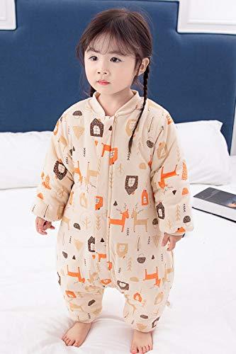Katoenen mouwloze babyslaapzak, katoenen quilt voor kinderen-Fawn Paradise Cotton_90 yards 1-2 jaar, slaapzak Baby Wrap Deken