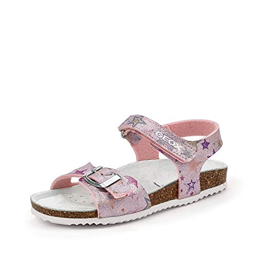 Geox Meisje Sandals And Slippers Girls J ADRIEL GIRL Roze 34 EU