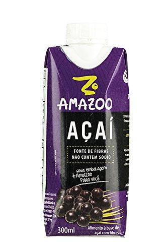 Trinkfertiger Açaí-Saft, Pack 300ml - AMAZOO Açaí Tradicional