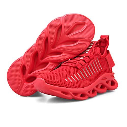 YUHUAWYH Gymschoenen voor meisjes, uniseks, kinderschoenen, sportschoenen, loopschoenen, ademend, jongens, outdoor…