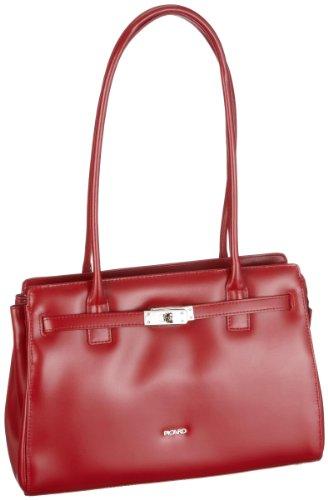 Picard Damen BERLIN Schultertaschen, Rot (Rot), 32x21x11 cm
