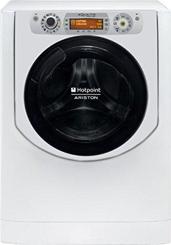 Hotpoint AQD1171D Caricamento frontale Libera installazione Argento, Bianco A