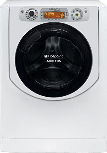 Hotpoint AQD1171D Carga frontal Independiente Plata, Blanco A - Lavadora-secadora (Carga frontal, Independiente, Plata, Blanco, Derecho, Giratorio, Tocar, LCD)