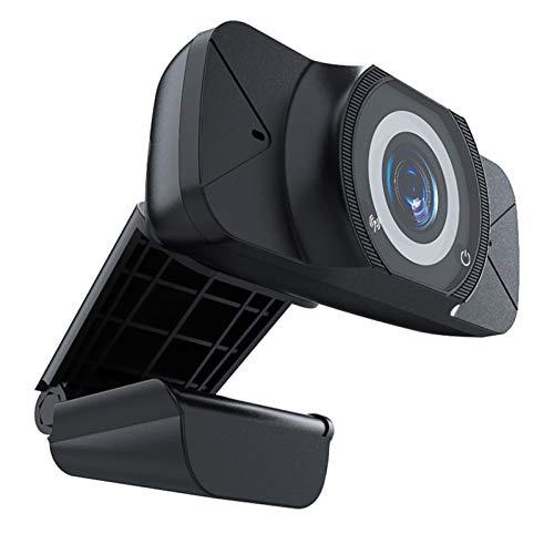 Annjom Cámara Web para PC, cámara Web de Video, Alta definición 1080P con micrófono Incorporado para computadora, computadora portátil, Accesorio