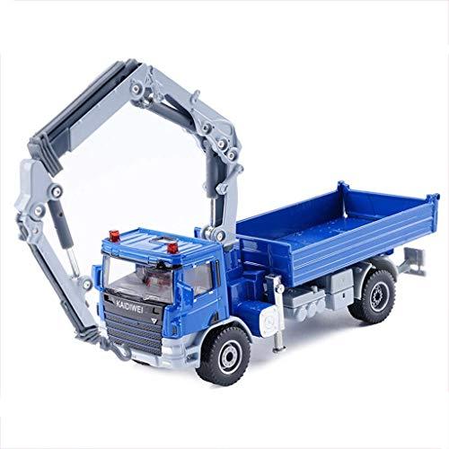 Yppss Modelo del Coche / 01:50 Simulación Die Cast Modelo de la aleación/Camión grúa Modelo/Coches de Juguete/los Ornamentos/de Color Opcional (Color: Rojo) Eternal (Color : Blue)