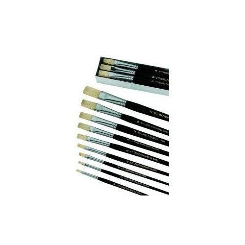 Lebez 577/10 Pennello Pura Setola, 12 pezzi da 10