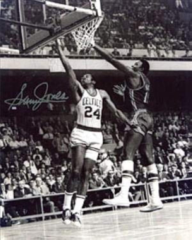 Sam Jones Autographed Photo  8x10  Autographed NBA Photos