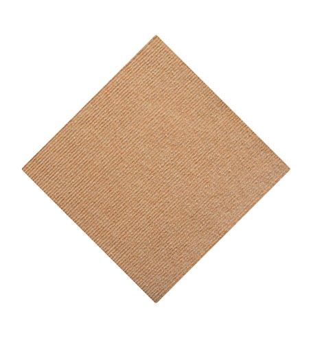 Icegrey Puzzlematte Bodenschutzmatte Für Hartböden Waschbar Selbstklebend Kein Kleber Teppich Khaki 28x28cm