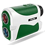 Profey Golf Rangefinder, 6X Laser Range Finder 1500 Yard with Slope On/Off, Flag Lock witn Vibration, Continuous Scan,Carrying Case, Free Battery