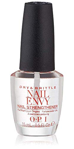 OPI Nail Strengthener, Dry and Brittle Nail Envy Treatment, 0.5 Fl Oz