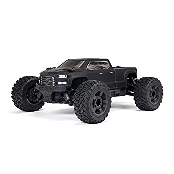 ARRMA 1/10 Big Rock 4X4 V3 3S BLX Brushless Monster RC Truck RTR  Transmitter and Receiver Included Batteries and Charger Required  Black ARA4312V3
