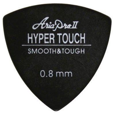 ARIA ハイパータッチ ピック P-HT01/080 BK トライアングル 0.8mm (ブラック)