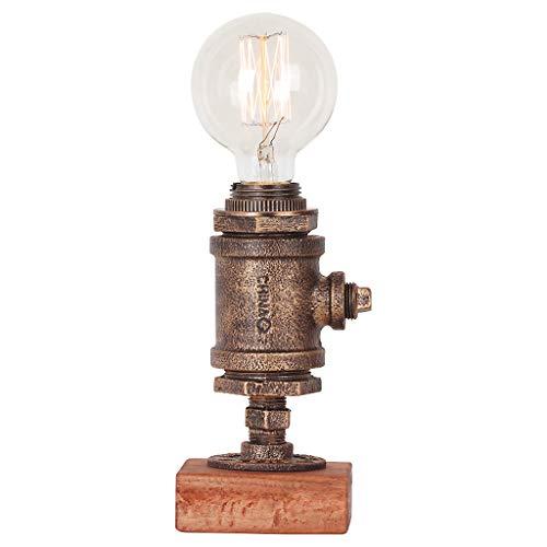 Tafellamp slaapkamer hoofdlamp retro industriële wind bar tafellamp café tafellamp van smeedijzer