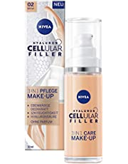 NIVEA Hyaluron Cellular Filler 3 in 1 cura trucco medio, 30 ml