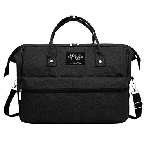 Great Deal! Leaf2you Nappy Bag Bottle Large Capacity Oxford Handbag Shoulder Bag Crossbody Bags Nurs...